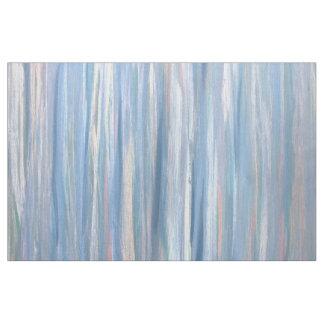 Tissu Rayure bleue moderne vulnérable d'argent de pêche