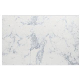 Tissu Regard de marbre blanc