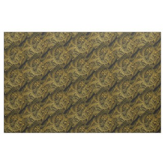 Tissu Rétro arrière - plan sans couture de motif