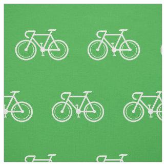 Tissu Textile de conception d'impression de vélo du