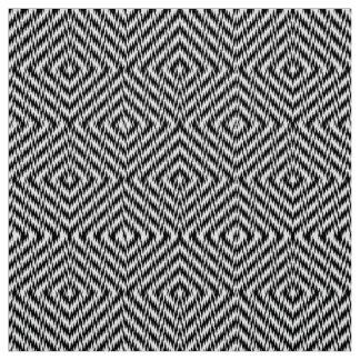 Tissu Zigzag noir et blanc