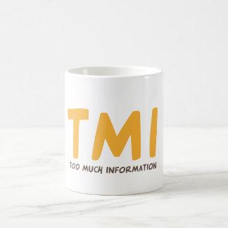 TMI - Trop d'information Mug
