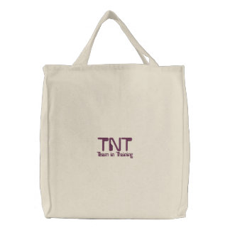 TNT, équipe dans la formation Sacs Brodés
