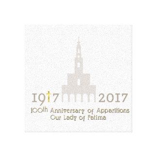 Toile 10ème Anniversaire des apparitions - Fatima