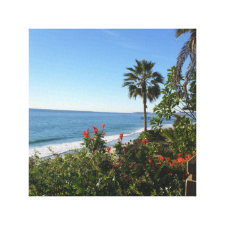 """Toile 12"""" X12"""", 1,5"""" plage de San Clemente"""
