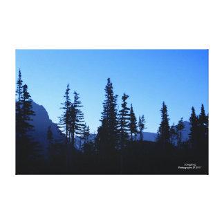 """Toile 51,72"""" de matin de parc national de glacier"""