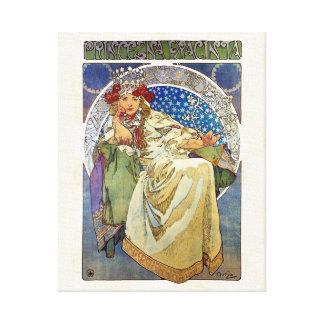 Toile Alfons Mucha Princezna 1911 Hyacinta