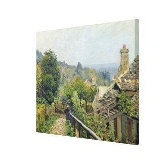 Toile Alfred Sisley | Louveciennes, les tailles à