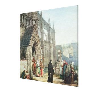 Toile Alma-Tadema | Faust et marguerite des prés, 1857