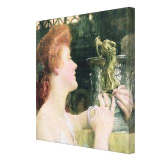 Toile Alma-Tadema | Hour d'or, 1908