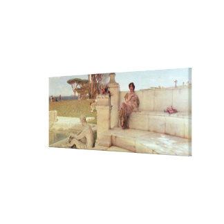 Toile Alma-Tadema | la voix de Spring, 1908