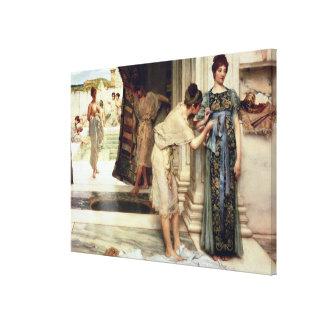 Toile Alma-Tadema | le Frigidarium, 1890