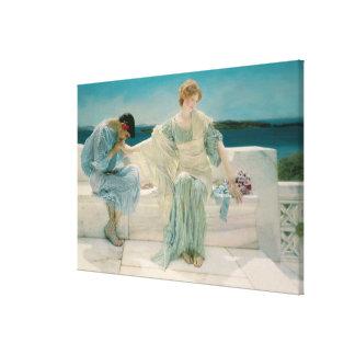 Toile Alma-Tadema | ne me demandent pas plus, 1906