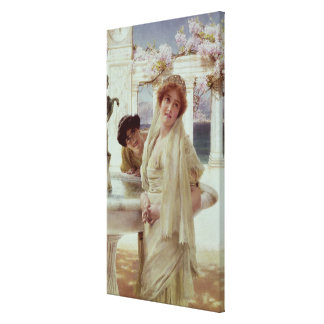 Toile Alma-Tadema   une divergence de vues