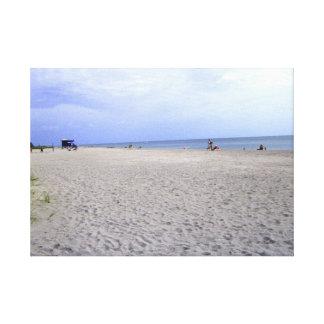 Toile Amusement à la plage