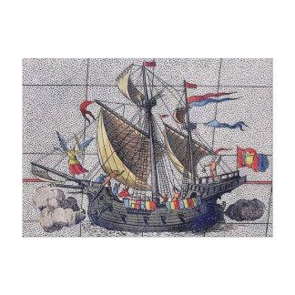 Toile Ange du bateau de navigation de mers