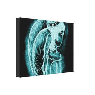 Toile Ange inversé par Aqua