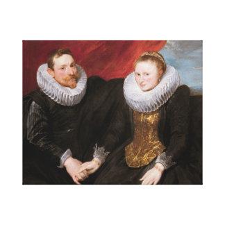 Toile Anthony van Dyck - un ménage marié
