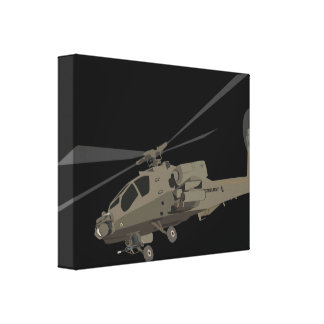 Toile Apache AH-64