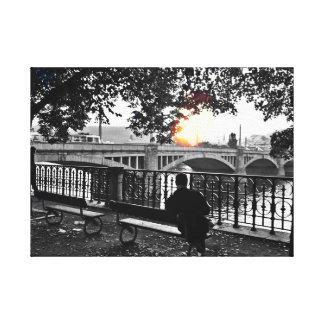 Toile Après-midi d'octobre par le Vltava