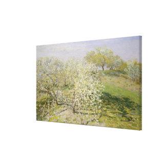Toile Arbres fruitiers de ressort en fleur