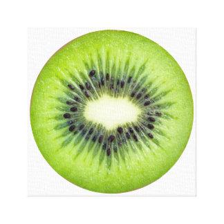 Toile Art de fruit de tranche de kiwi