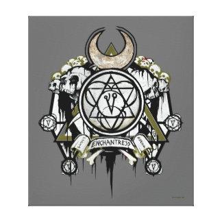 Toile Art de tatouage de symboles d'enchanteresse du