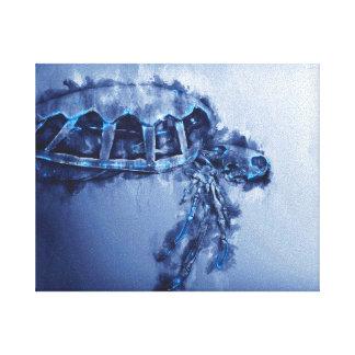 Toile Art de tortue de mer -
