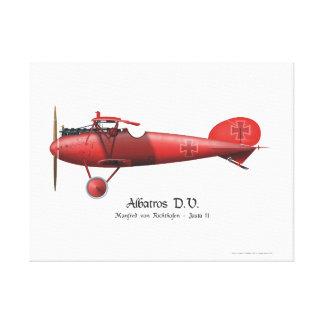 Toile As de vol rouge de baron Manfred von Richthofen