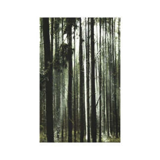 Toile Au bord de forêt
