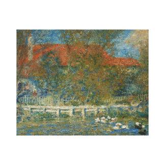 Toile Auguste Renoir - l'étang de canard