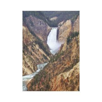 Toile Automnes de Yellowstone