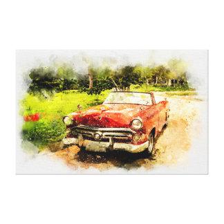 Toile Automobile vintage