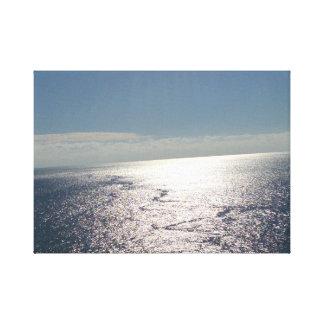 Toile Aux extrémités de l'océan