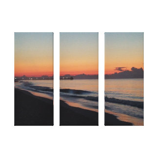Toile Avant le lever de soleil