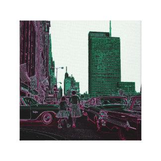 Toile Avenue de achat Chicago 1961 du Michigan de fille