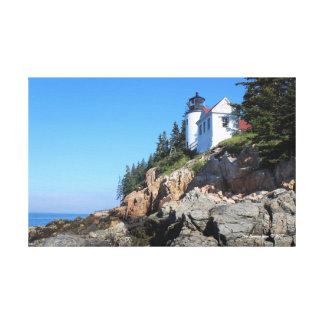 Toile basse de phare de port