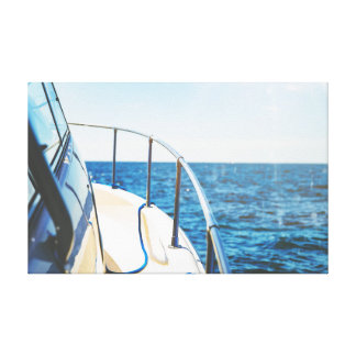 Toile Bateau sur le ciel de l'océan | de l'eau |