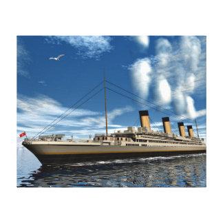 Toile Bateau titanique - 3D render.j
