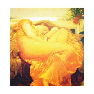 Toile Beaux-arts de flamber juin Frederic Leighton