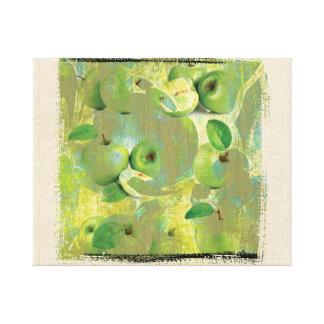 Toile Beaux-arts du sens de la vie verte !