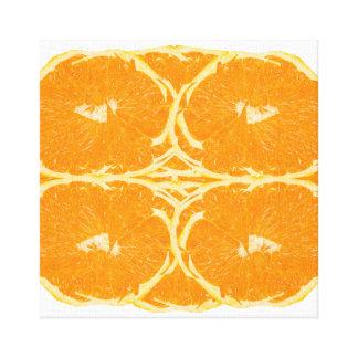 Toile Beaux-arts oranges d'esthétique d'esprit de fruit