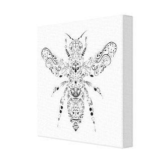 Toile belle abeille