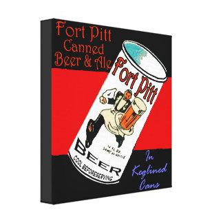 Toile Bière de Pitt de fort