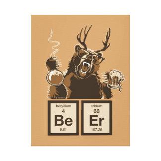 Toile Bière découverte par ours de chimie