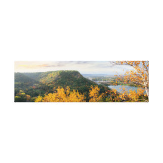 """Toile Bluff et panorama 26.5x8 1,5"""" de bouleau"""