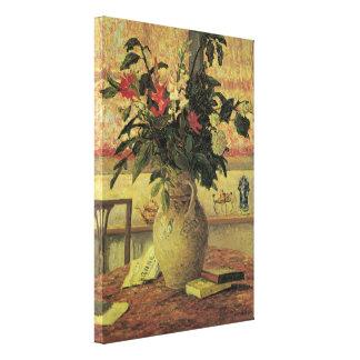Toile Bouquet vintage d'impressionisme des fleurs par