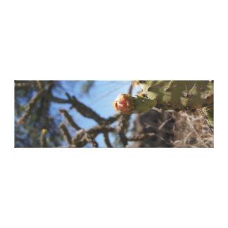 Toile Bourgeon d'Ocatillo vertical et de figue de