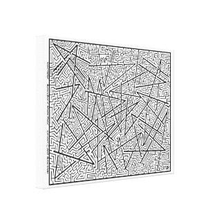 Toile Brisé - un labyrinthe extraordinaire par Blaise !