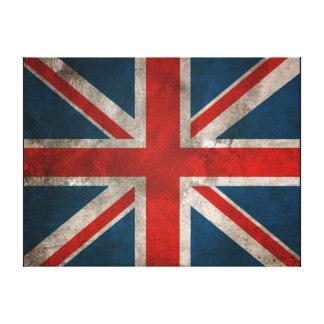Toile britannique de mur d'Union Jack Toiles